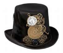 Steampunk Top Hat Wedding Ring Holder